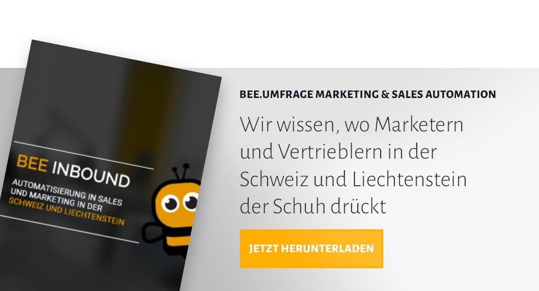 BEE.Umfrage Marketing & Sales Automation herunterladen
