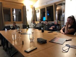 BEEs on Tour: Teamevent in Grimentz