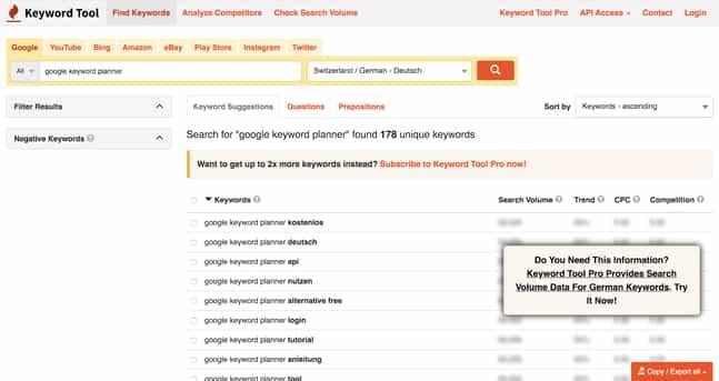 Blogartikel Google Keyword Planner Text-10