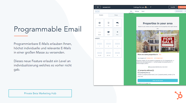 programmable email