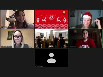 screenshot Christmas Meeting