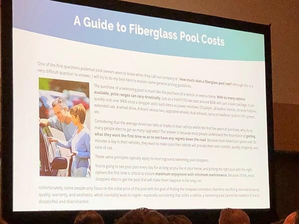 A Guide to Fiberglass Pool Costs