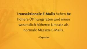 E-Mail-Marketing / Transaktionale E-Mails