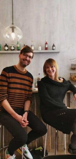 Martin Kydd und Cathrin Mittermeier