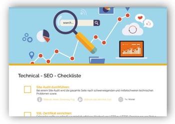 Technical-SEO Checkliste Voransicht