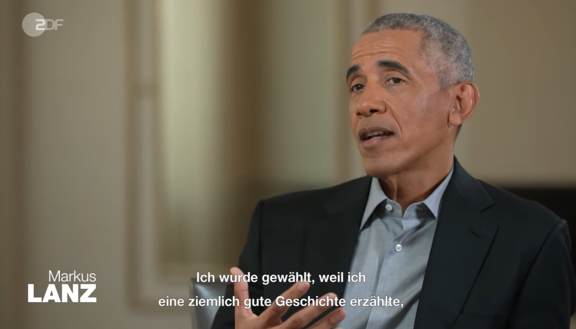 Barack Obama bei Markus Lanz